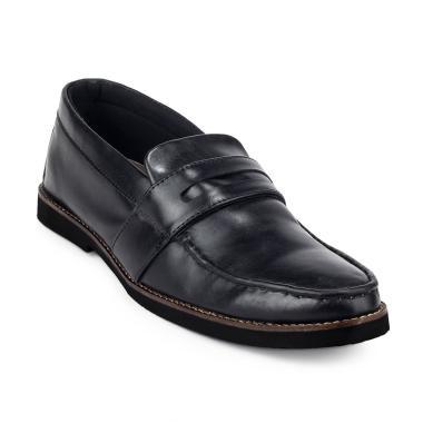 Giant Flames Harper Loafer Sepatu Formal Pria - Black