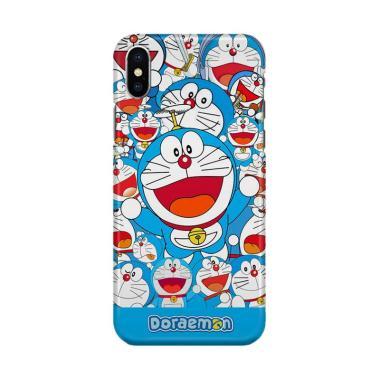 harga Indocustomcase Cartoon Doraemon Sticker Bomb Cover Hardcase Casing for iPhone X Blibli.com