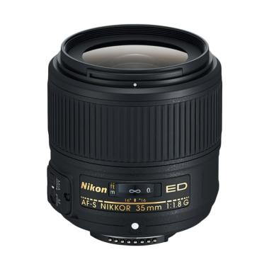 Nikon AF-S 35mm f/1.8 G ED Lensa Kamera
