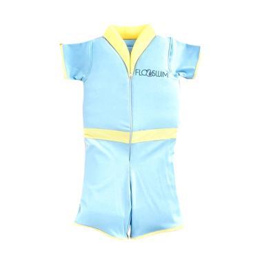 Cuddle Me Floswim Goswim Pelampung Baju Renang Anak Laki- laki - Baby Blue