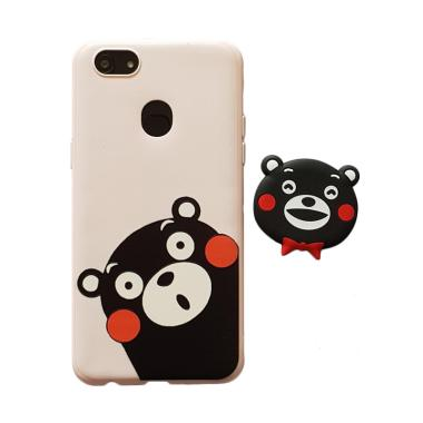 OEM Bear Casing for OPPO F7 or F7 PRO + Pop Socket