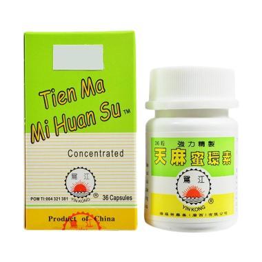 Yin Kong Tien Ma Mi Huan Su Obat Kesehatan [36 Capsule]
