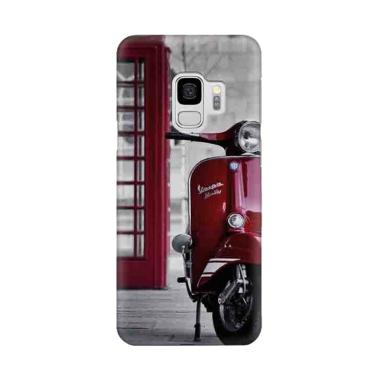 harga Indocustomcase London Red Vespa Cover Casing for Samsung Galaxy S9 Blibli.com
