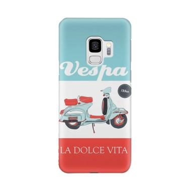 harga Indocustomcase Vespa La Dolce Vita Cover Casing for Samsung Galaxy S9 Blibli.com