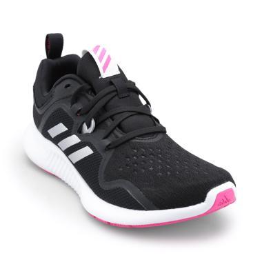 adidas Women Running Edgebounce Shoes - Core Black Silver Metallic Shock  Pink  BB7563  4c1c78641a