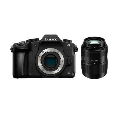 harga Panasonic Lumix DMC-G85 Body with Lumix G Vario 45-200mm f/4-5.6 II jpckemang GARANSI RESMI Blibli.com
