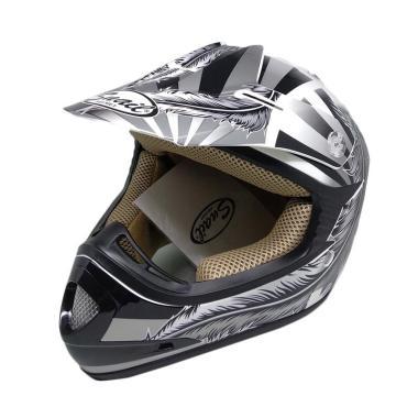 harga Snail Helmet MX306 Feather Helm Motocross Anak Blibli.com
