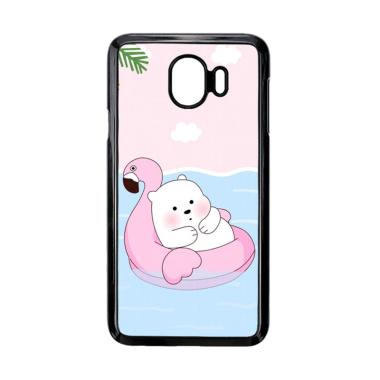 harga Bunnycase Cute Polar Bear Summer LI0215 Custom Hardcase Casing for Samsung Galaxy J4 2018 Blibli.com
