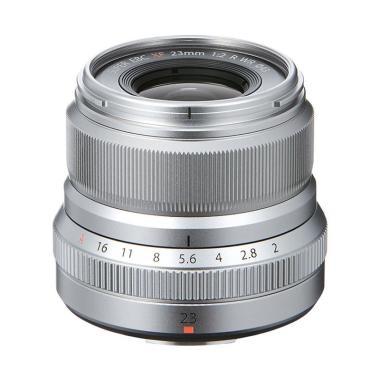 Fujifilm Fujinon XF 23mm f/2.0R WR Lensa Kamera Silver