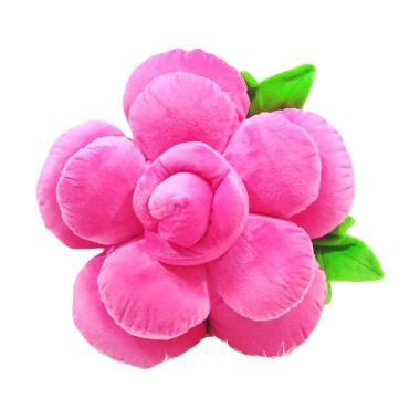 harga Flower Bunga Mawar Boneka Bantal - Pink Fanta Blibli.com