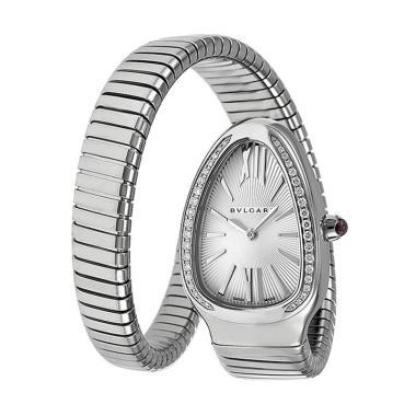 harga Bvlgari Serpenti Tubogas Silver Dial Stainless Steel Bracelet Jam Tangan Wanita Blibli.com