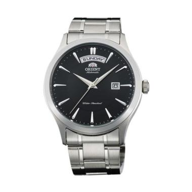 Orient Classic Automatic Stainless Steel Jam Tangan Pria [FEV0V001WH/1BH]