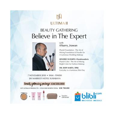 Ultima II Beauty Gathering E-Ticket [Surabaya]