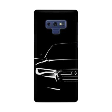 Indocustomcase Audi Front Soft Art Cover Casing for Samsung Galaxy Note 9