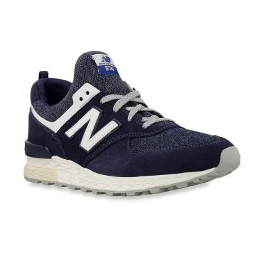 New Balance 574 Sport Men s Lifestyle Sepatu Sneakers Pria - Navy Blue   MS574BB  0e4a762b9a