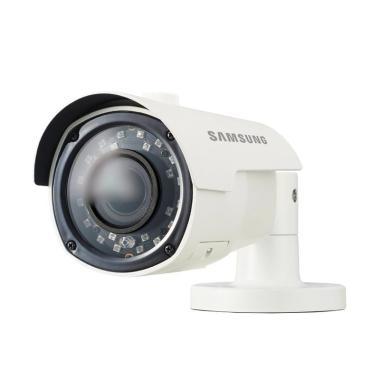 Samsung HCO-E6070RP Hanwha FullHD with Night Vision Camera CCTV - 09 Soft  White [Zoom Ratio 2 8-12mm/ 4 3x/ Original]