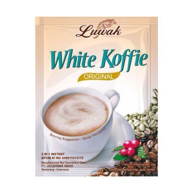Luwak White Coffee Rasa Original Kopi Instant [20 g]