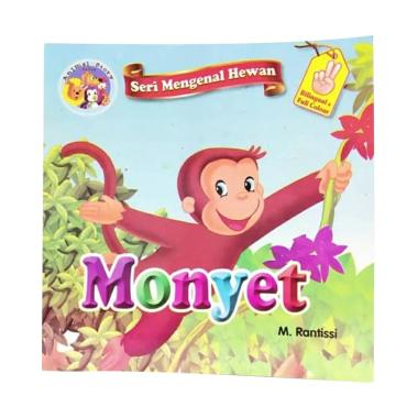 harga Bintang Indonesia Seri Mengenal Hewan Monyet by M. Rantissi Buku Cerita Edukasi Anak Blibli.com