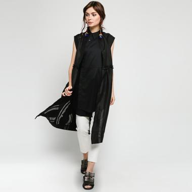 7c67f39ab Slovv Midsummer Long Shirt BLISLV12 Atasan Wanita - Black