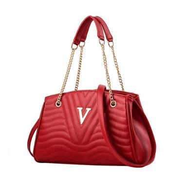 Purnama V Motif Hand Bag .