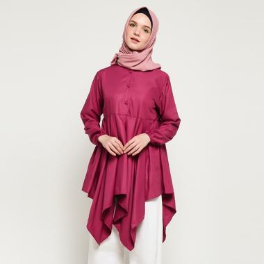 Radwah RKLYTPP02 Kelly Top Tunik Wanita - Purple
