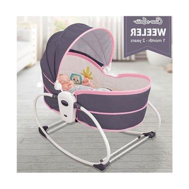 harga Cocolatte Weeler Bouncer 5in1 Rocker with Bassinet & Carry Cot Blibli.com