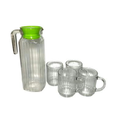 KIMGLASS Nemo Water Pitcher Teko Set Gelas ...