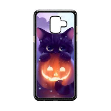harga Acc Hp Halloween Cat L0018 Custom Casing for Samsung Galaxy A6 Blibli.com