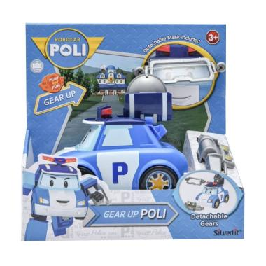 Silverlit 83392 Robocar Poli Gear Up Poli Action Figure