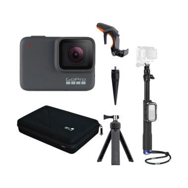 GoPro Hero 7 Silver Action Camera with SP Gadgets Accessories