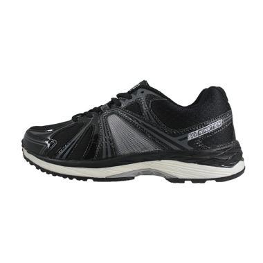 016a19dc13e 910 Shigeru Sepatu Lari Unisex - Hitam Abu Putih