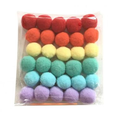 Hot Nordic Coloré Pom Pom Ball Hanging Garland Birthday Party Nursery Decor Li