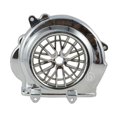 harga RPM Aksesoris Cover Kipas Motor for Honda New Vario Fi Esp 110 cc Chrome Blibli.com