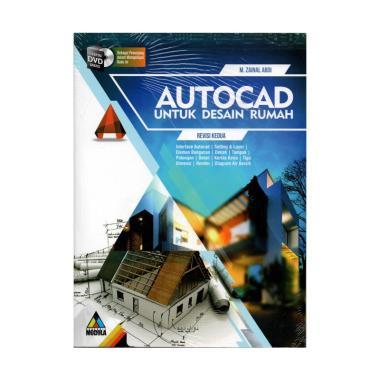 harga MODULA Autocad Untuk Desain Rumah Revisi Kedua by M. Zainal Abdi Buku multicolor Blibli.com