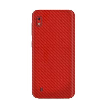 3M Skin Protector for Samsung A10 - Red Carbon