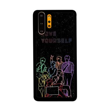 Cannon Case Bts Love Yourself L2912 Custom Hardcase Casing for Samsung Galaxy Note 10 Plus