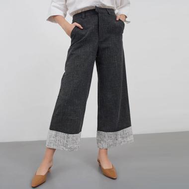 Berrybenka Prunella Pants Wanita - Black