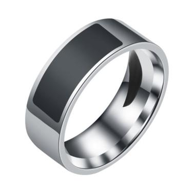 harga Bluelans Stainless Steel Access Card Chip Magic Ultimate Control NFC Smart Ring Band [Size 14/23.1mm] Blibli.com