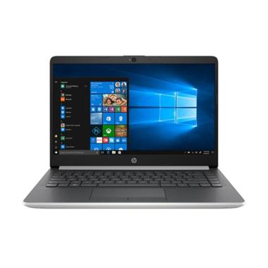 harga HP 14s-cf0062TU Notebook - Silver [Intel Core i3-7020U/ Intel HD 620/ 4 GB/ 1 TB/ Windows 10] Blibli.com