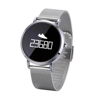 harga Bluelans CV08 Sport Blood Pressure Heart Rate Monitor Bluetooth Smart Wristband Bracelet BLACK Blibli.com