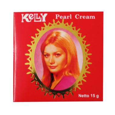 harga Kelly Pearl Cream Bedak Pemutih Wajah [15 g] Blibli.com