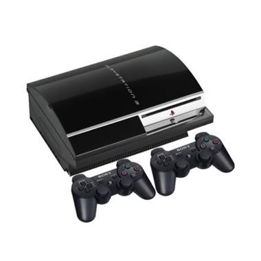 harga SONY Playstation 3 Game Fat Konsol [120 GB / CFW 4.84 / HDD 120 GB / 2 Stik Wireless / Full Game] Blibli.com