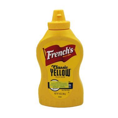 harga FRENCH'S Squeeze American Favorite Mustard [14 Oz] Blibli.com