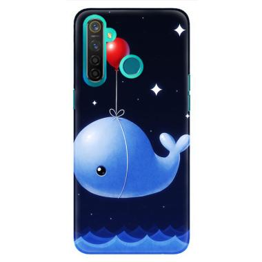 flazzstore whale balloons wallpaper y0408 casing realme 5 case full01