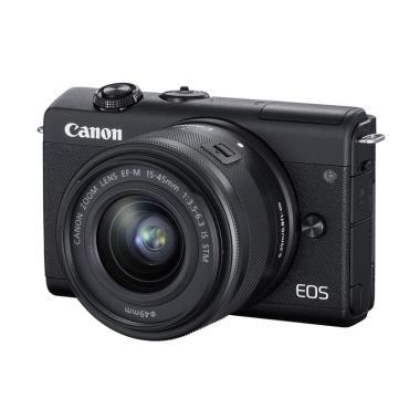 Canon EOS M200 Kit 15-45mm Mirrorless Camera - Braga Photo Video