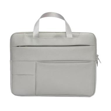 harga Bag Zone Hand Strap PU Leather Tas Laptop 14 inch Blibli.com