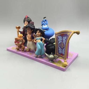 harga OEM  Aladin WCF Genie Jasmine Jafar Will Smith Action Figure Blibli.com