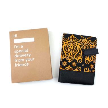 harga Bukuku Batik A5 Black Truffle Buku Agenda Blibli.com