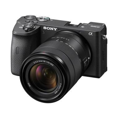 SONY A6600 / ILCE-6600M / Kamera Mirrorless Alpha A6600 dgn Lensa E 18-135mm F3.5-5.6 OSS - Hitam. Garansi Resmi Sony Indonesia 1 Tahun BLACK