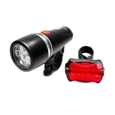 harga TAFFLED Lampu Sepeda Depan Belakang 5 LED Blibli.com